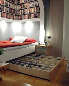 säng med säng under
