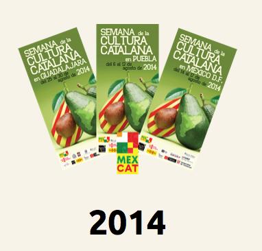 Programación de las Semanas Catalanas en México 2014