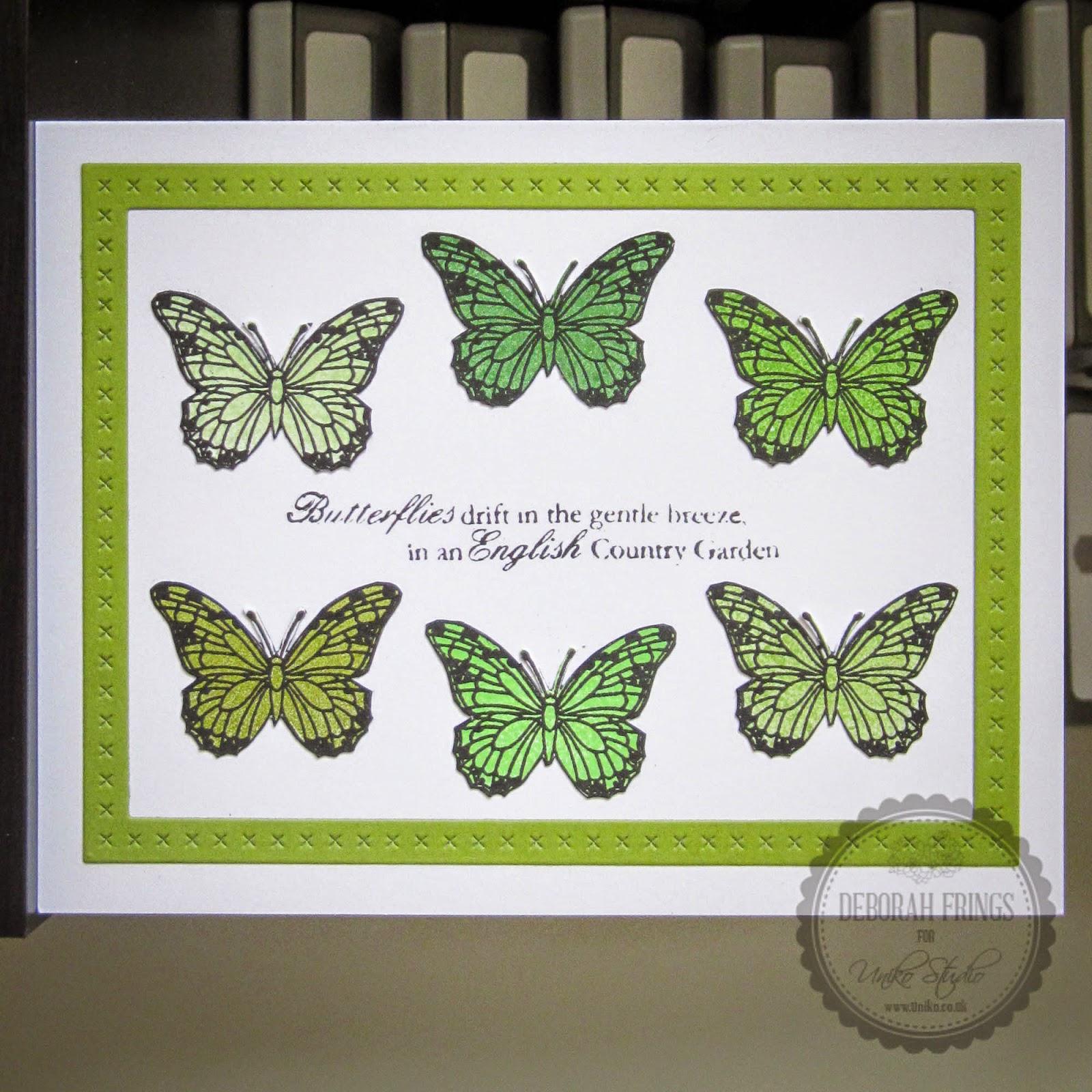 Butterflies sq - photo by Deborah Frings - Deborah's Gems