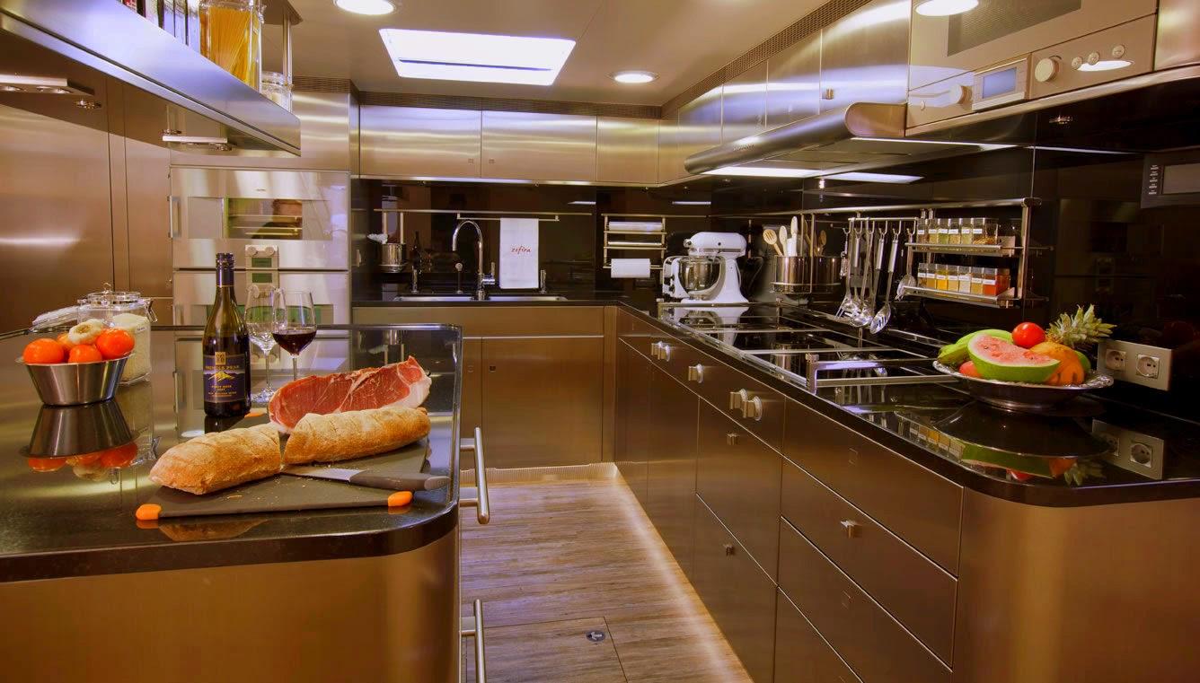 Learn ship design november 2014 for Boat galley kitchen designs