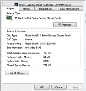 تعريف كرت الشاشة لويندوز 7