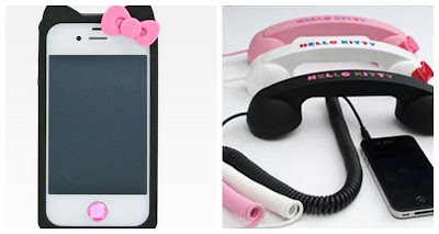 Hello Kitty IPhone Case, Hello Kitty iPhone Handset, Hello Kitty Gifts, Hello Kitty Accessories