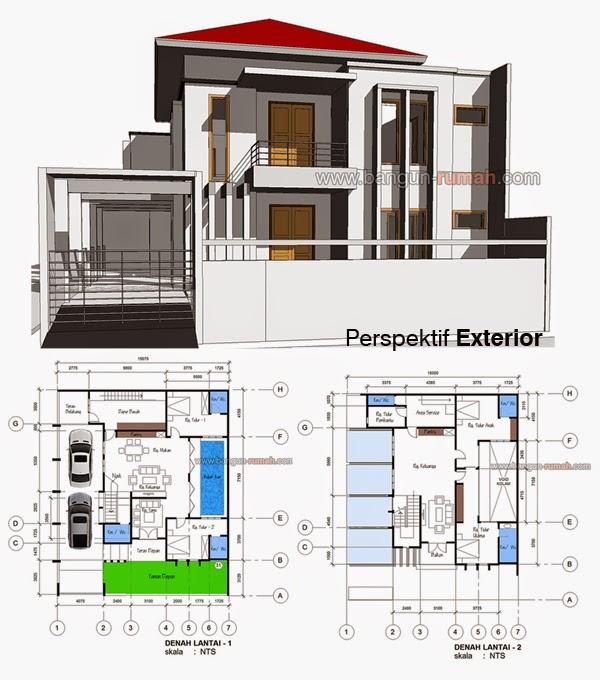 Desain Rumah Minimalis 2 Lantai Di Hook