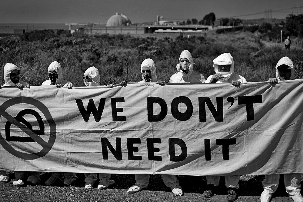 Image result for no nukes protest