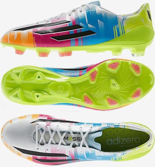 botas de fútbol adizero TM f50 edición Messi
