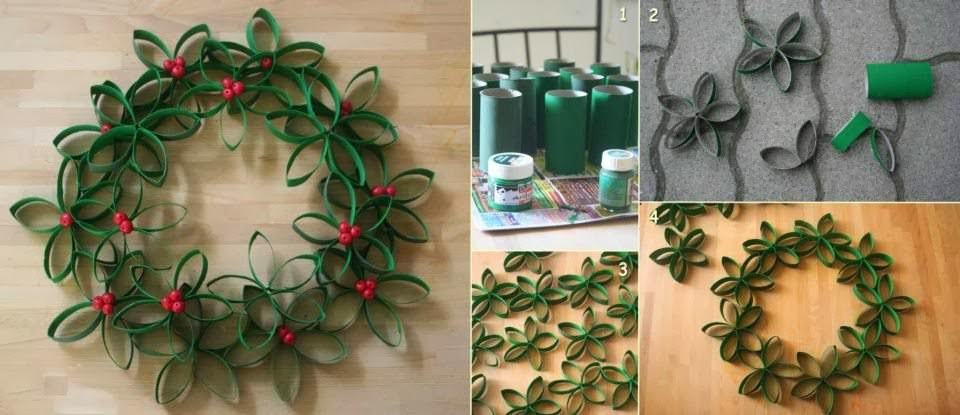 How to recycle diy christmas decor tutorials for Recycled decoration