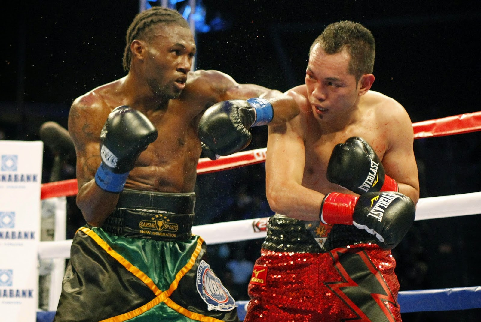 Donaire KO, Donaire Knocked out, Walters vs Donaire