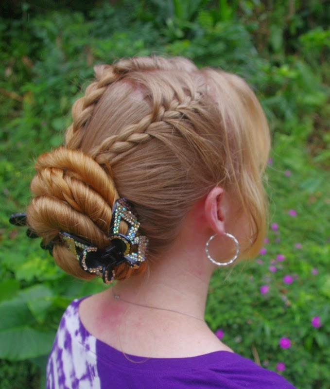 Braids & Hairstyles For Super Long Hair: Mohawk French