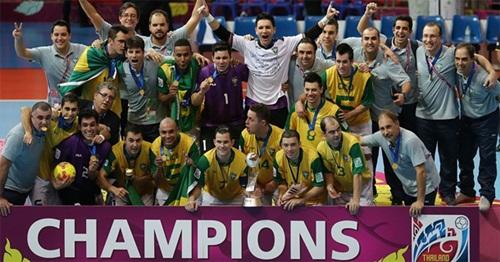 Saiba mais sobre o Campeonato Mundial de Futsal