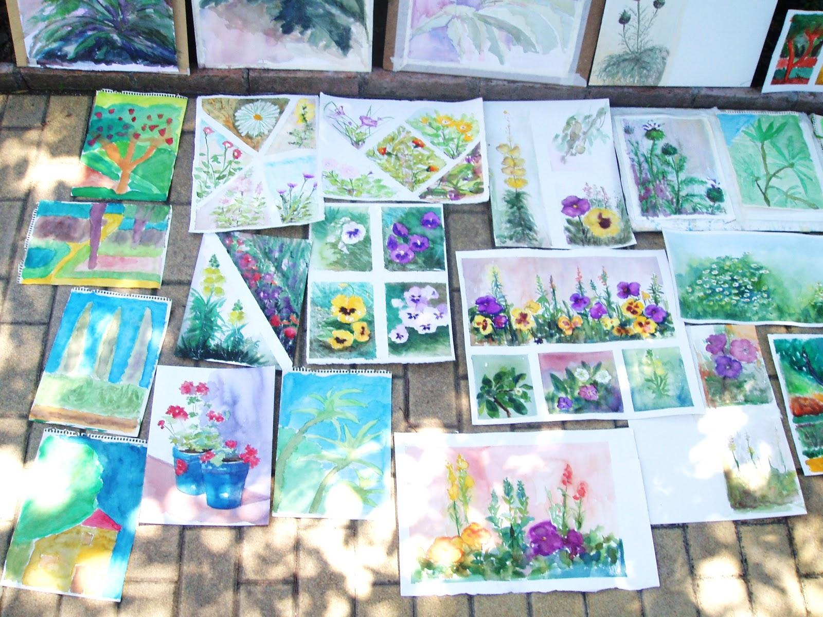 Escuela de arte antonio povedano soledad madrid curso for Jardin botanico cursos
