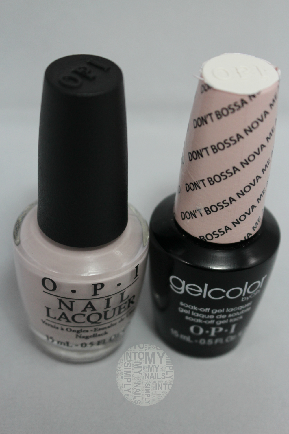 OPI Gelcolor Don\'t Bossa Nova Me Around | Simply Into My NAILS
