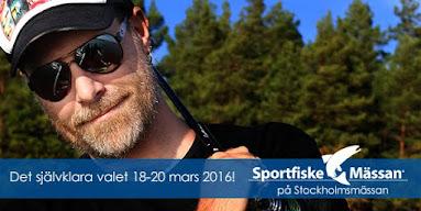 Missa inte 2016års Sportfiskemässa