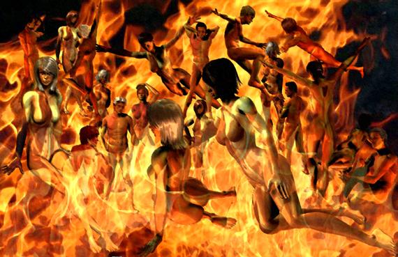 Hades Entre El Fuego Y La Cruz