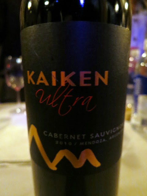 Wine Review of 2010 Kaiken Ultra Cabernet Sauvignon from Mendoza, Argentina