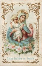 Mãe do Salvador, rogai por nós!