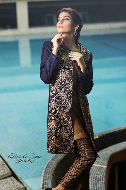 Sana Salman Winter Collection 2014-15