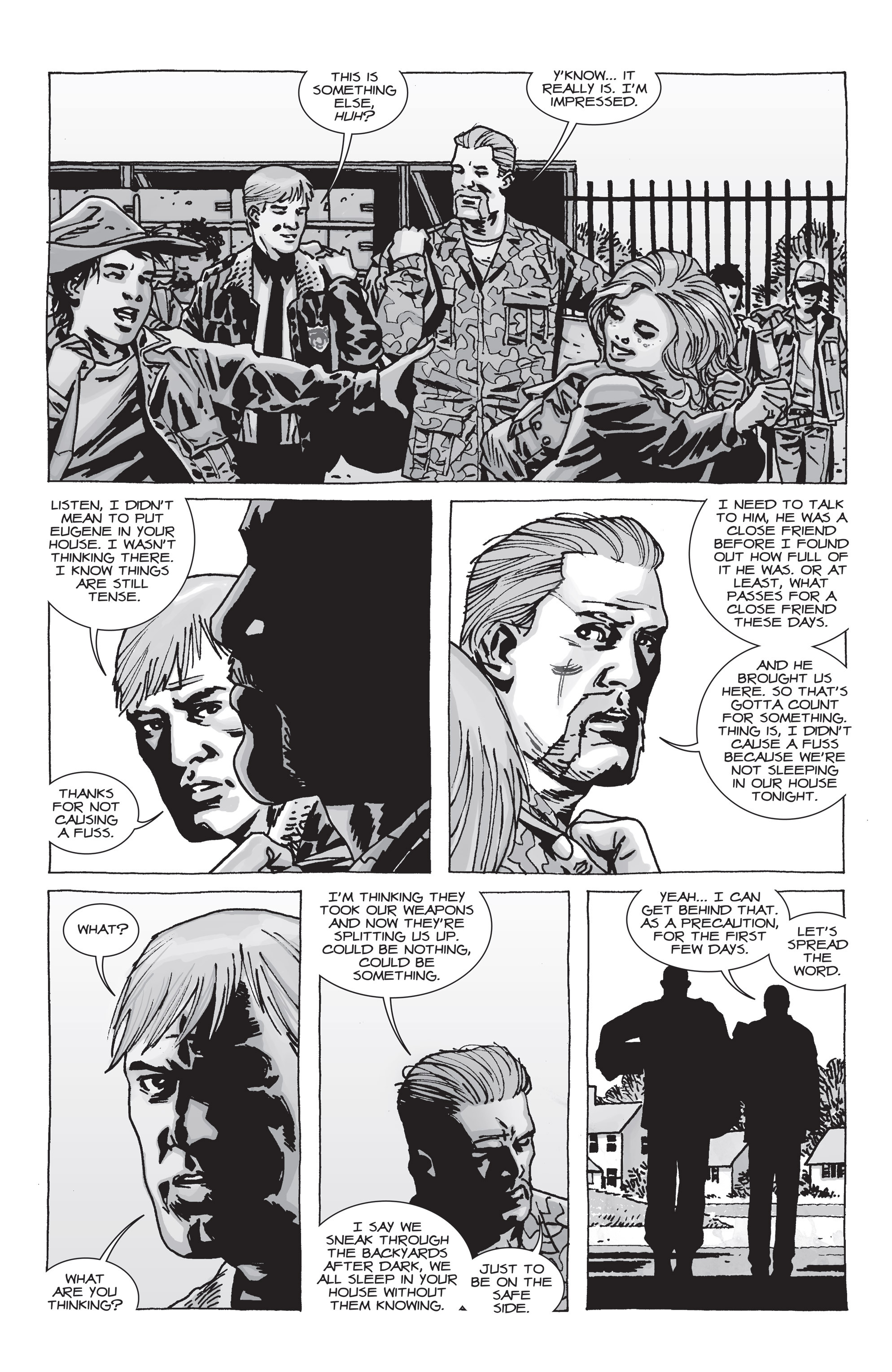 The Walking Dead Issue #71 Page 12