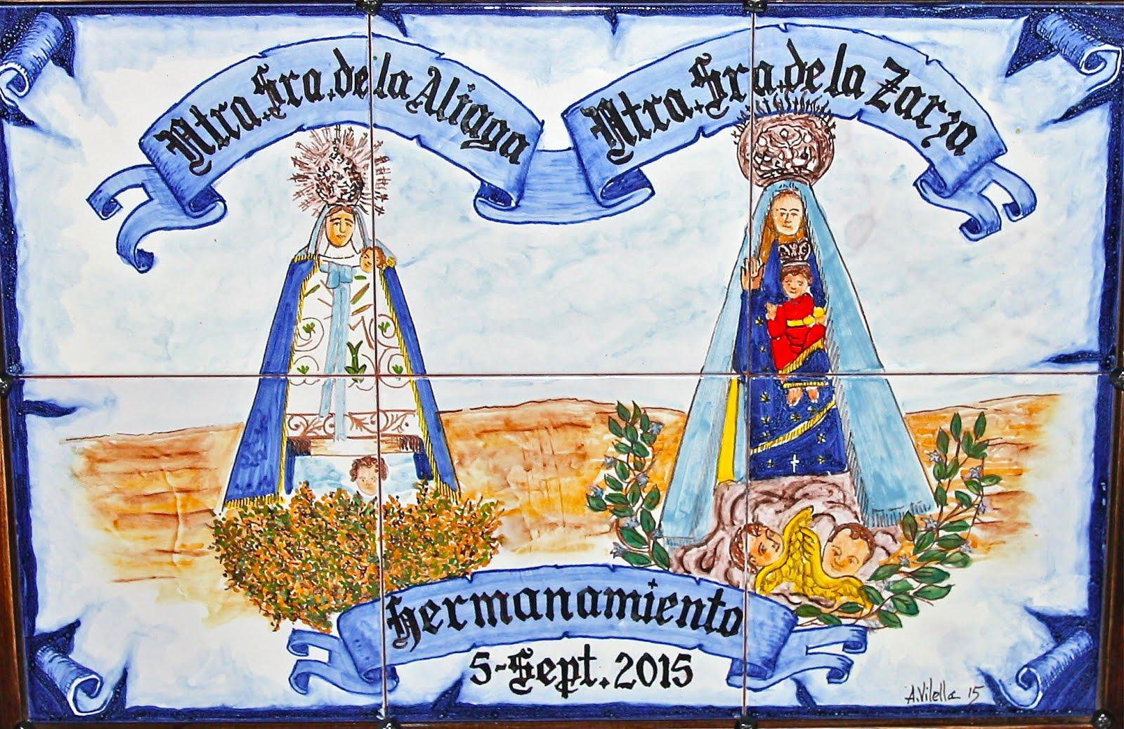 Fotogaleria: Hermanamiento Cofradías Virgen de la Aliaga y  Virgen de la Zarza.