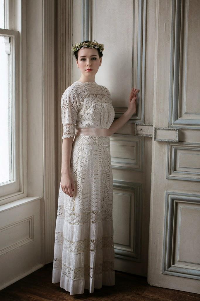 Edwardian vintage wedding dresses - a guide. |Heavenly Vintage ...