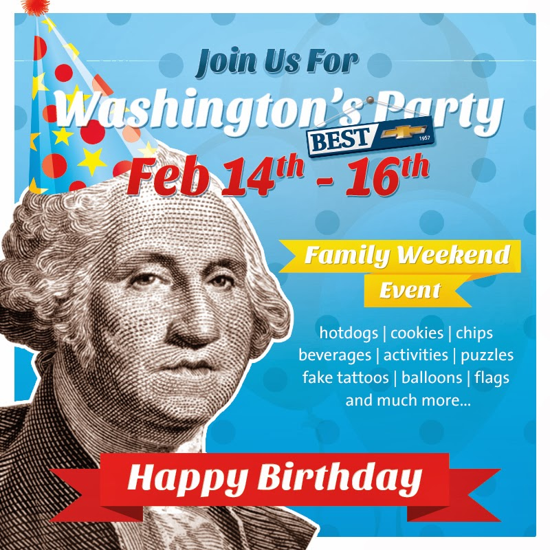 Washington's Birthday Celebration at Best Chevrolet