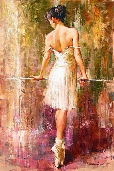 pintura sobre dança