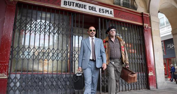 """Karra Elejalde y Manuel Manquiña en """"Rey Gitano"""""""