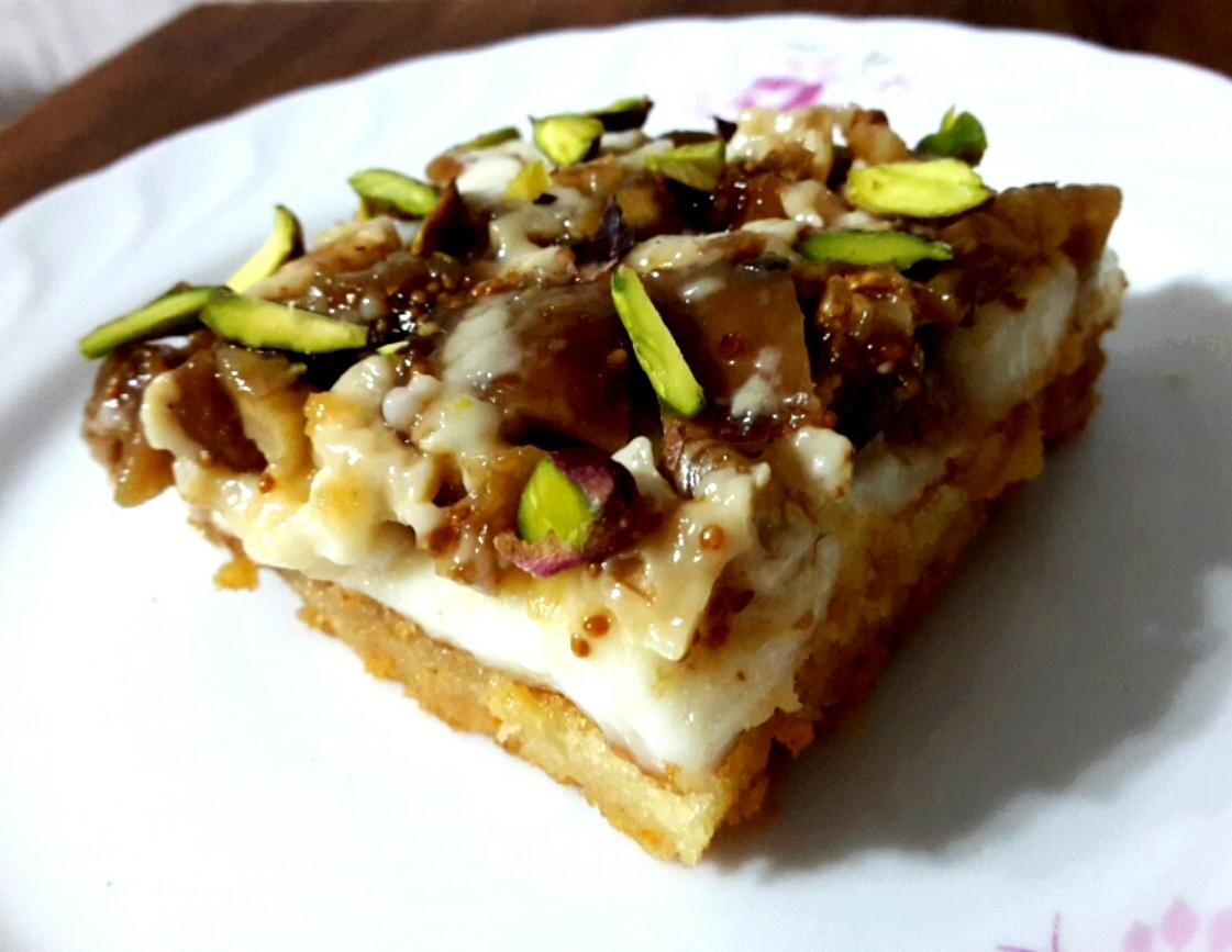 İncirli Karemelli Pasta