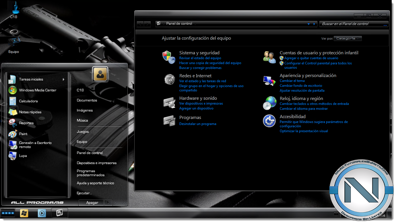 Windows XP Black Edition Overview