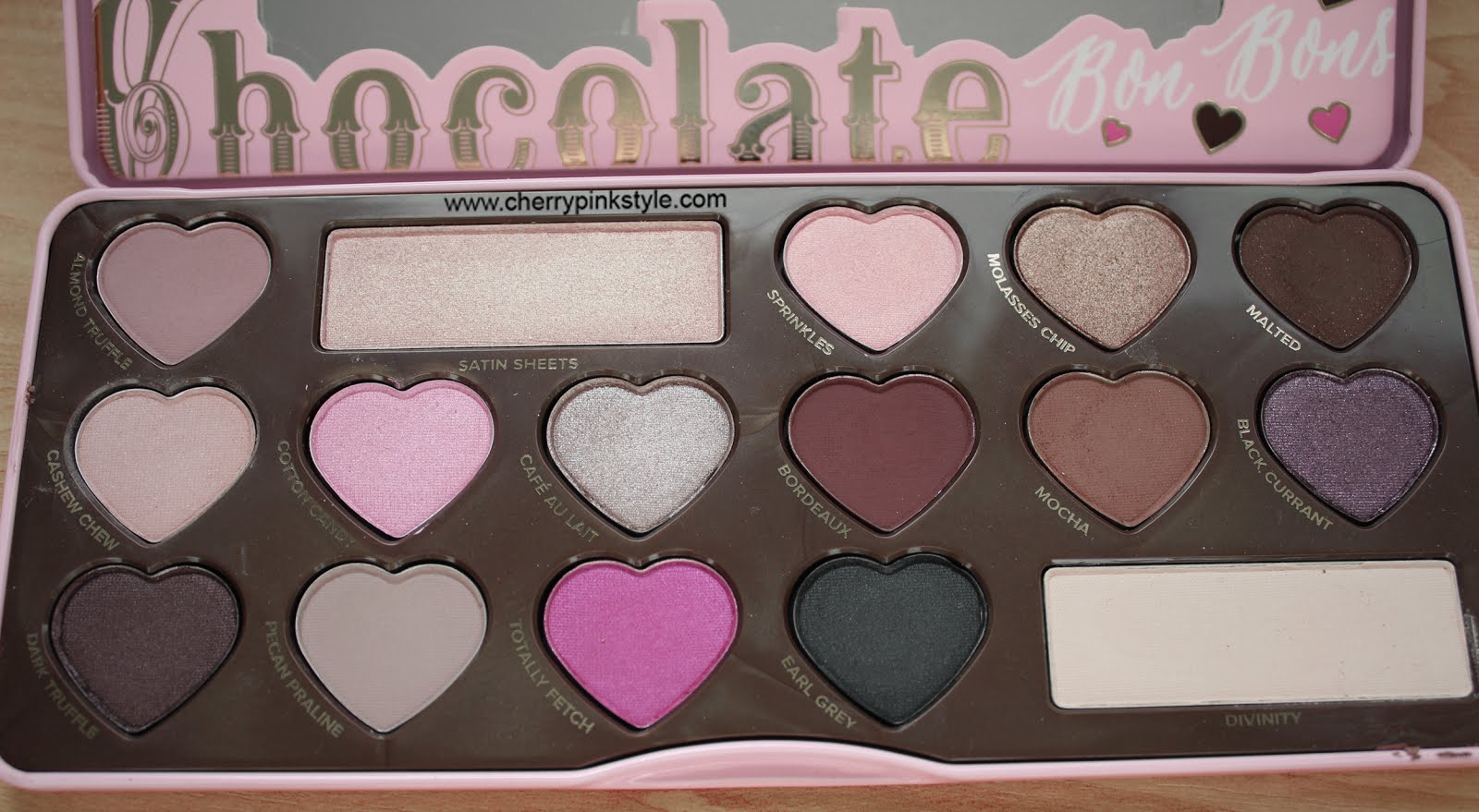 paleta bon bons de too faced