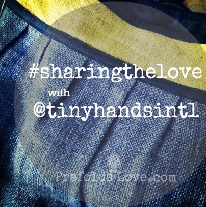 hemp bag giveaway #sharingthelove with @tinyhandsintl