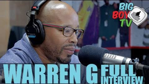 WARREN G X BIG BOY INTERVIEW