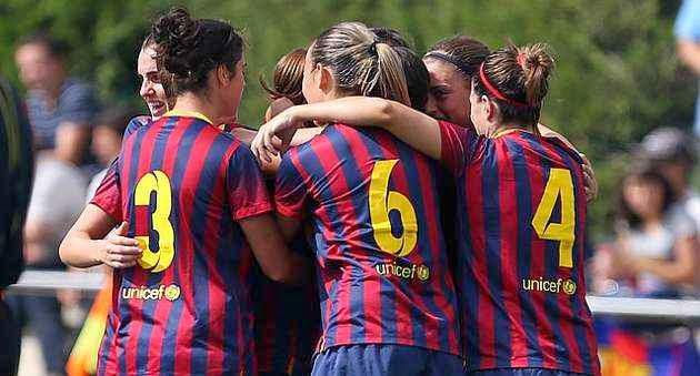 El Barça femenino sentencia la liga