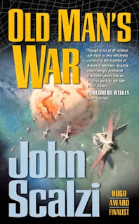 cover: Old Man's War by John Scalzi