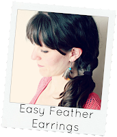 http://www.eatsleepmake.com/2013/11/easy-feather-earrings.html