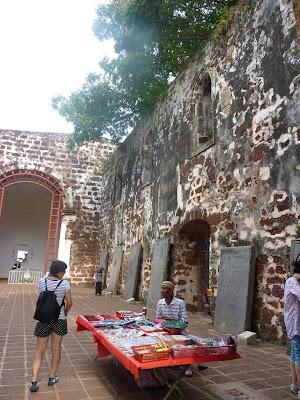 St paul church Malacca Malaysia