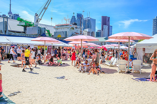Toronto Wine & Spirit Festival - Sugar Beach 2015