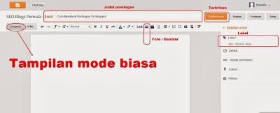 Cara Membuat Postingan Di Blogspot2