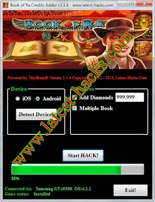book of ra iphone hack