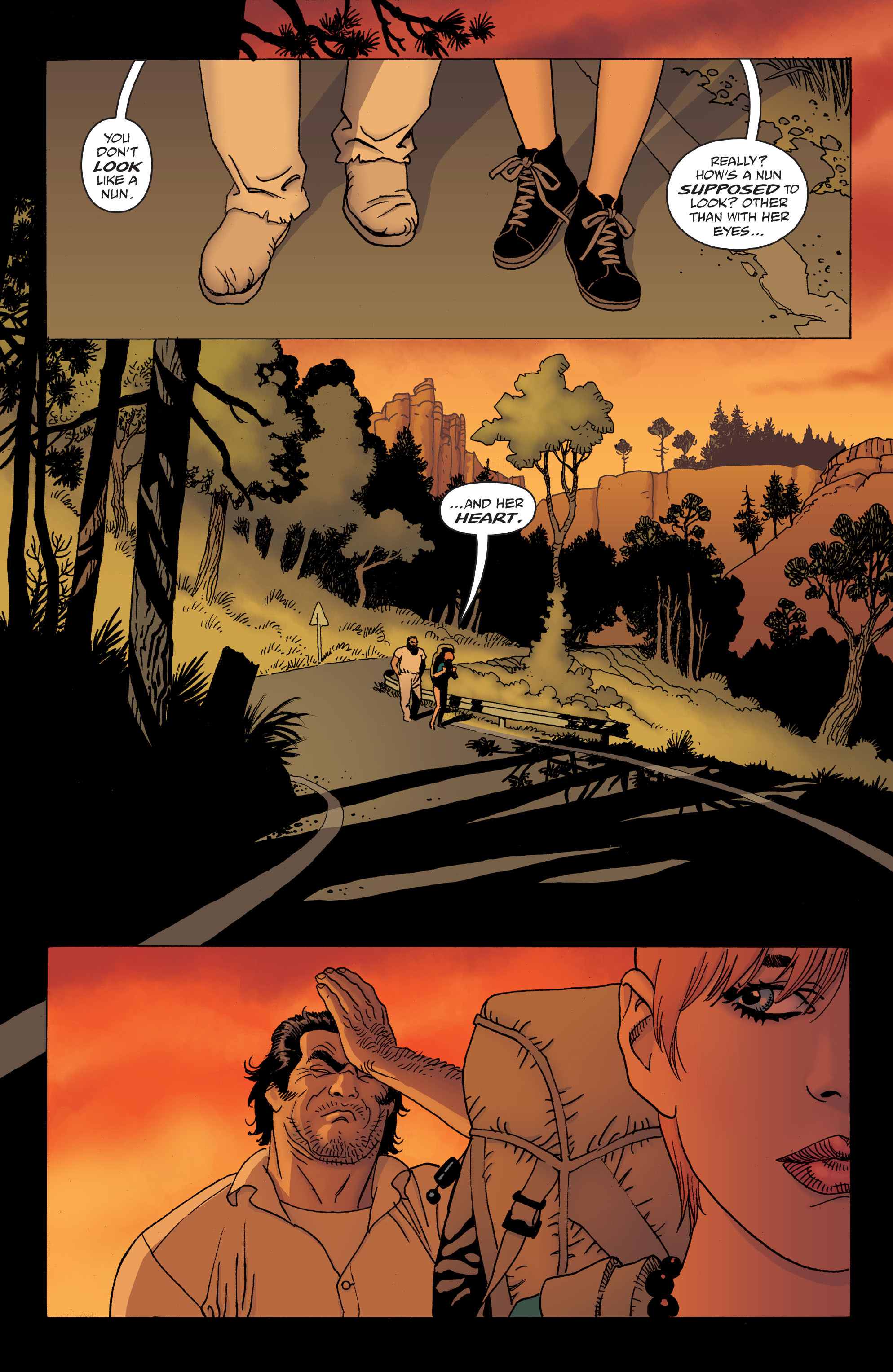 100 Bullets: Brother Lono Full Page 36