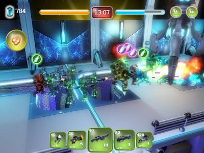Download Permainan Gratis Alien Hallway - Game Perang Alien