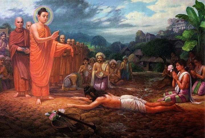Petapa Sumedha Menyatakan Tekad untuk Menjadi Sammasambuddha buddhist Images
