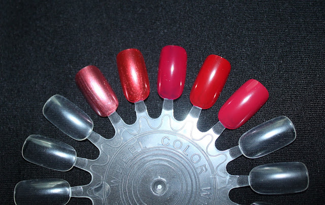 TOP 5 RED NAILS  POLISHES