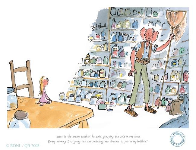 Matilda Libros: Semana de Roald Dahl. El Gran Gigante Bonachón.