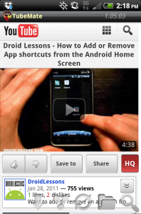 cara download video youtube di android 4
