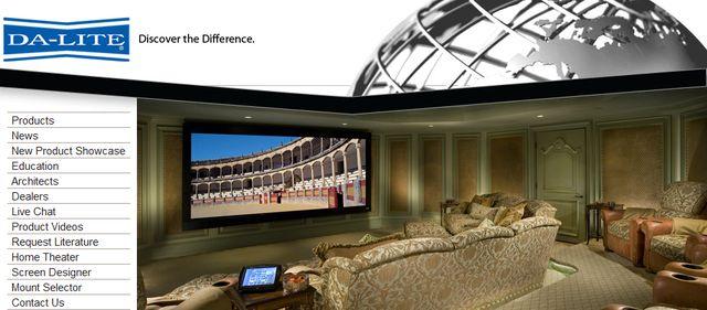Home Theater Projector Screens at Da-Lite.com