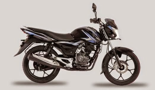 Bajaj Discover 100 M  Midnight Black & Blue