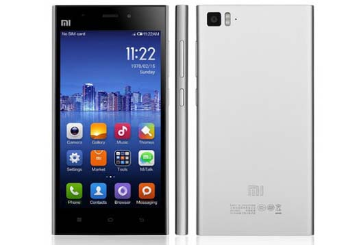 Harga HP Xiaomi Mi3, Spesifikasi Android Jelly Bean RAM 2 GB Kamera 13 MP