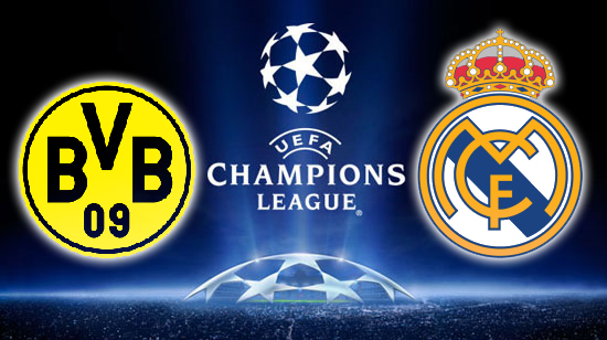 Hasil Pertandingan Borussia Dortmund vs Real Madrid | Leg 1 Semi Final Liga Champions 2013