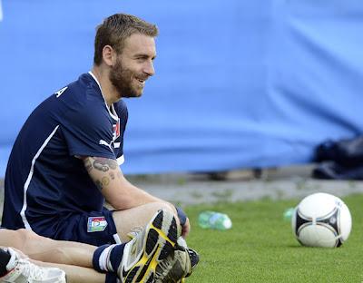 Daniele De Rossi tattoo : Euro 2012