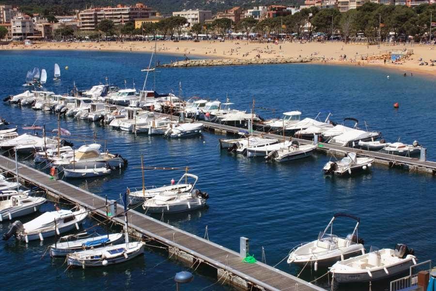 Marina of Sant Feliu de Guixols